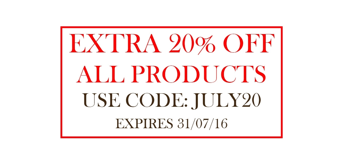 Extra 20% Off for July
