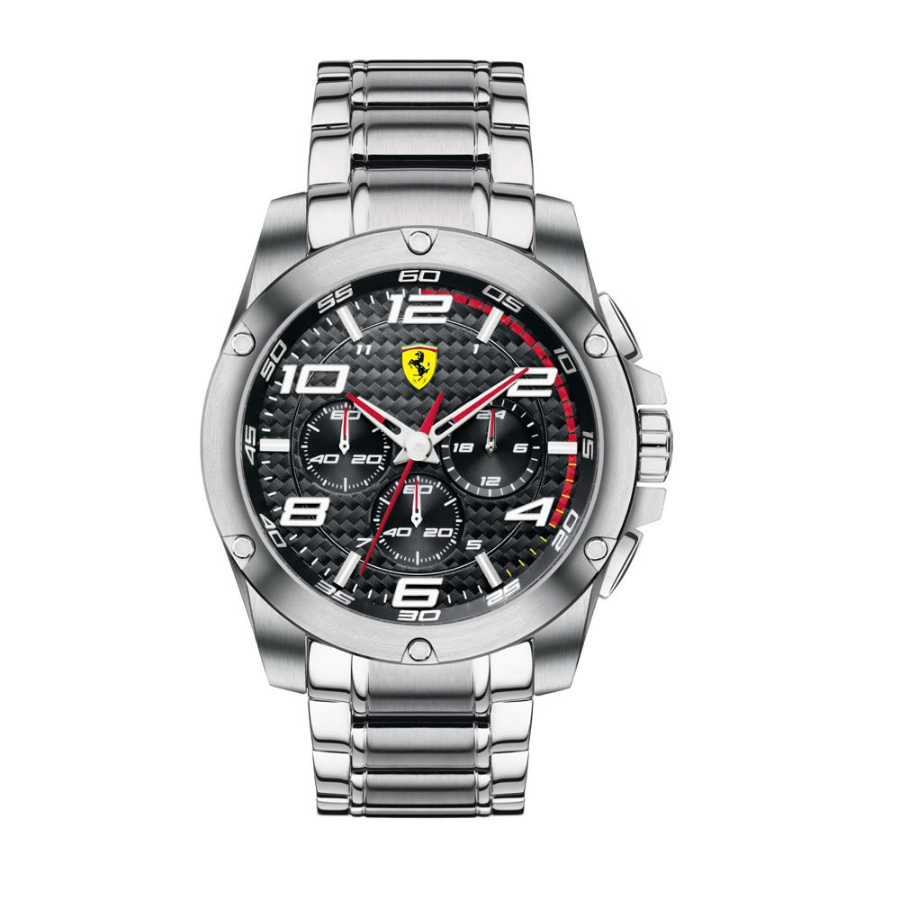 scuderia turismo chronograph itm excellent ferrari image watches s gran loading red leather is