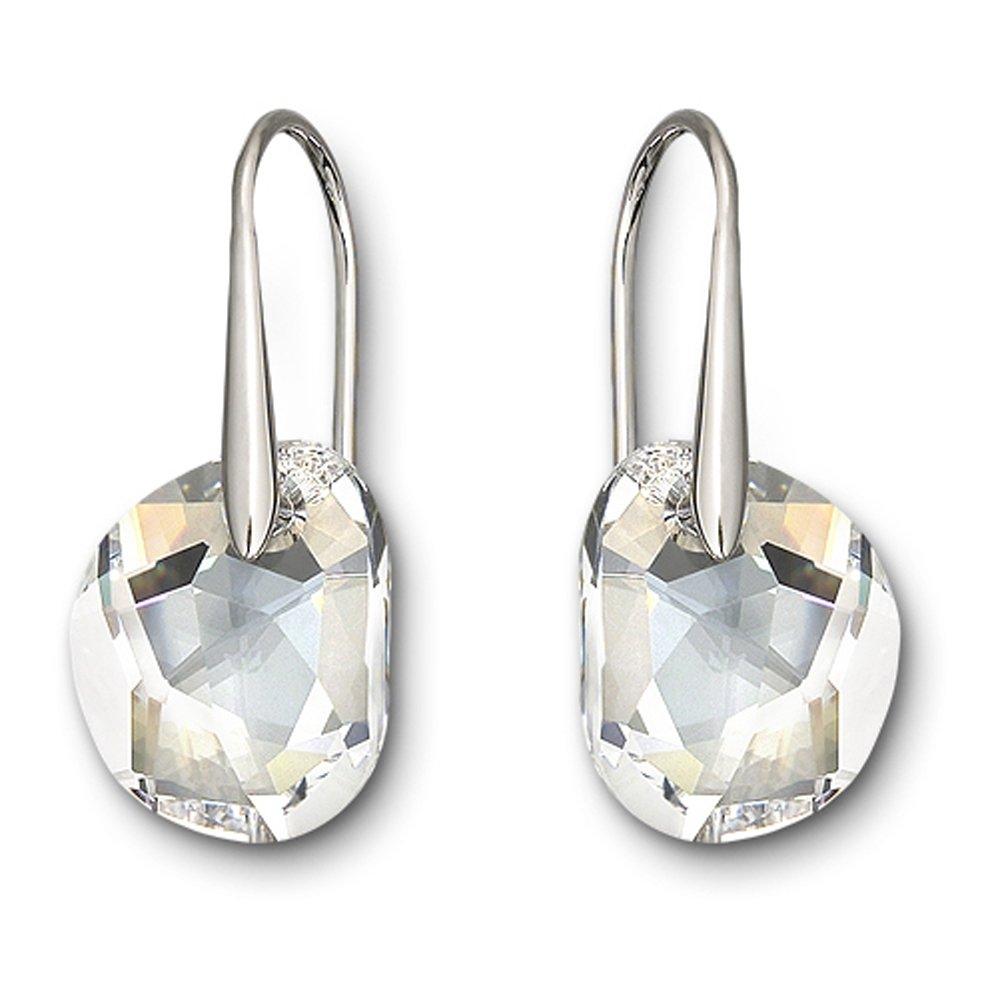 swarovski galet drop earrings burns jewellers