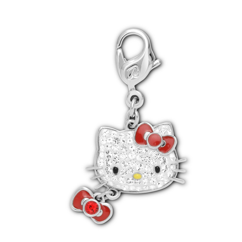 swarovski hello ribbon charm burns jewellers