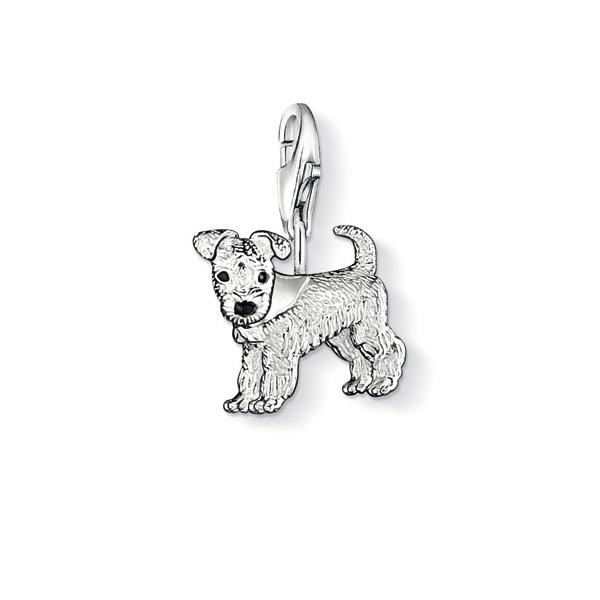 thomas sabo silver dog charm burns jewellers. Black Bedroom Furniture Sets. Home Design Ideas